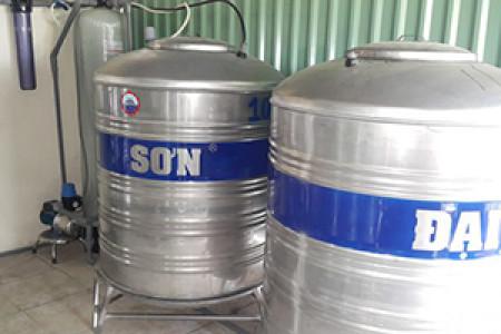 Lắp đặt hệ thông xử lý nước cho trường học tại Nhà Bè