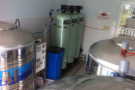 Lắp đặt hệ thống xử lý nước Bệnh Viện Nhi An Giang